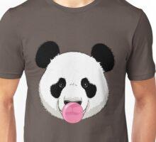 Panda and bubble gum Unisex T-Shirt