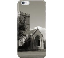 The Parish Church of St Andrew | B&W iPhone Case/Skin
