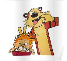 calvin and hobbes yuck Poster