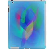 Light Blue Abstract Colors iPad Case/Skin