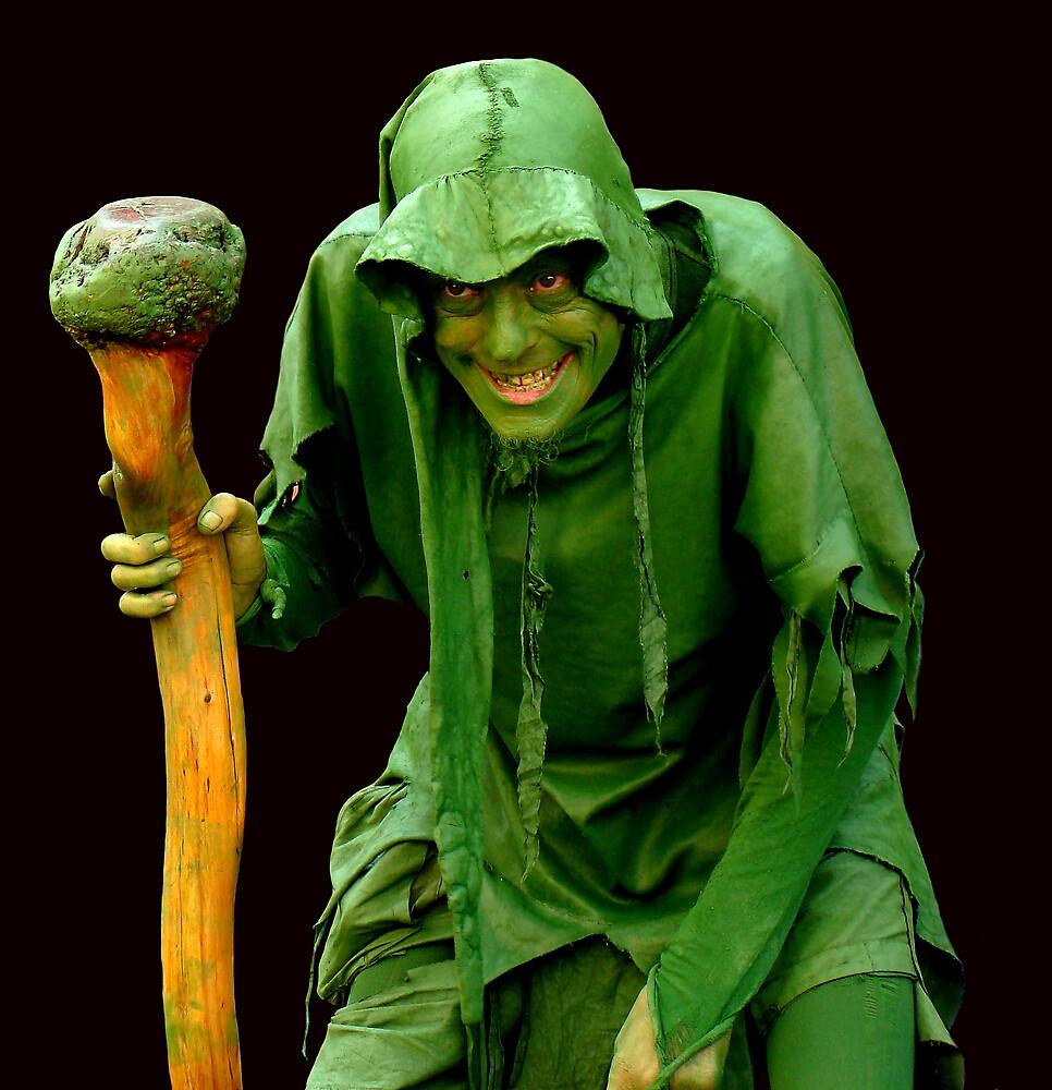 JOLLY GREEN GIANT - BARCELONA by Michael Sheridan