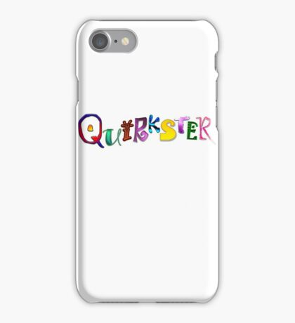 Quirkster iPhone Case/Skin