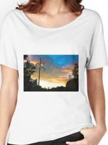 Electric Sunset Women's Relaxed Fit T-Shirt