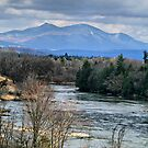 Spring Vermont Landscape by Deborah  Benoit