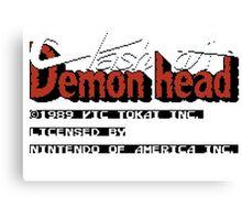 Clash At Demon Head Canvas Print