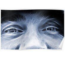 Fractal face Poster