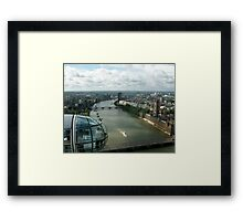 A London Eye's View Framed Print