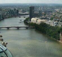 A London Eye's View Sticker