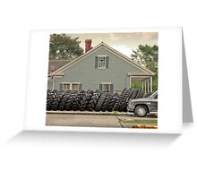 Louisiana Tires Greeting Card