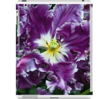 Purple Parrot Tulips of Keukenhof iPad Case/Skin