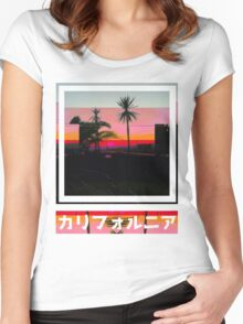The Destroyed Beach Women's Fitted Scoop T-Shirt