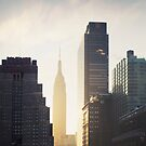 Manhattan Sunrise by Kameron Walsh