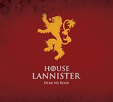 House Lannister by Cian Breathnach