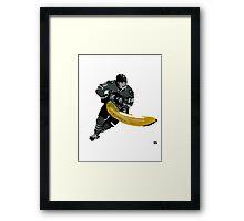 Hockey players need fruit too  Framed Print