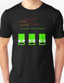Eat. Sleep. Kerbal Space Program. Unisex T-Shirt