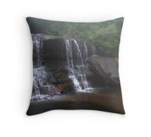 Wentworth Falls Blue Mountains Throw Pillow