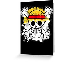 Straw Hat Pirates Greeting Card