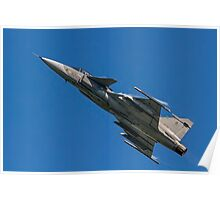 SAAB JAS 39C Gripen 9240 Poster