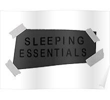 Sleeping Essentials Poster