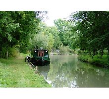 Peace on the Canal Photographic Print