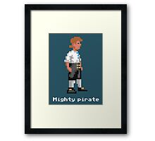 Mighty Pirate V2 Framed Print