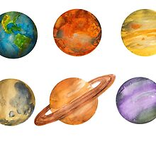 Planets by Beth Stephens