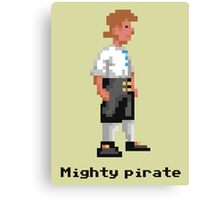 Mighty Pirate Canvas Print