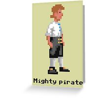 Mighty Pirate Greeting Card