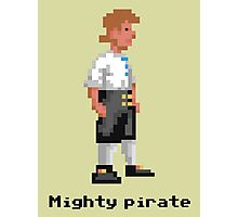 Mighty Pirate Photographic Print