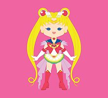 Super Sailor Moon by gabdoesdesign
