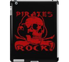drum and bass pirates iPad Case/Skin