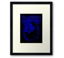Friedrich Nietzsche Philosopher Design Framed Print