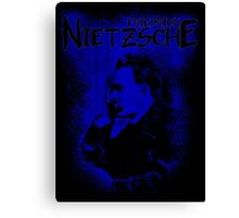 Friedrich Nietzsche Philosopher Design Canvas Print