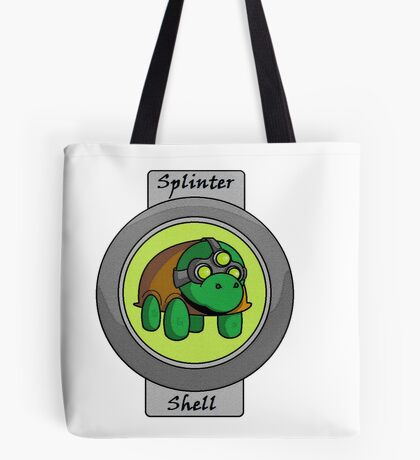 Splinter Shell Tote Bag