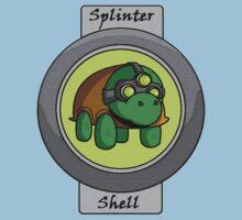 Splinter Shell One Piece - Short Sleeve