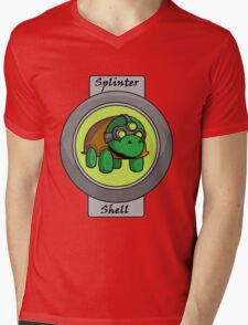 Splinter Shell Mens V-Neck T-Shirt
