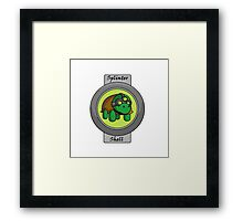 Splinter Shell Framed Print