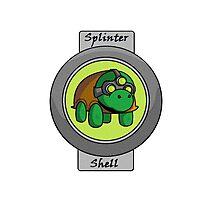 Splinter Shell Photographic Print