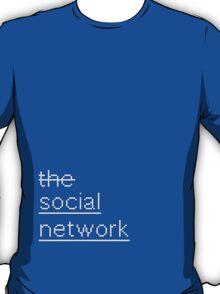 SCRIPT / the social network T-Shirt