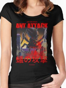 Ant Attack Women's Fitted Scoop T-Shirt