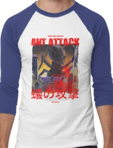 Ant Attack Men's Baseball ¾ T-Shirt
