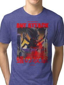 Ant Attack Tri-blend T-Shirt