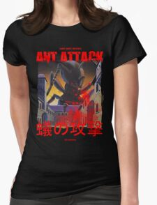 Ant Attack Womens Fitted T-Shirt
