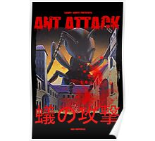Ant Attack Poster