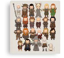 Tiny Hobbit Canvas Print