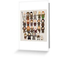 Tiny Hobbit Greeting Card