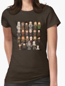 Tiny Hobbit Womens Fitted T-Shirt