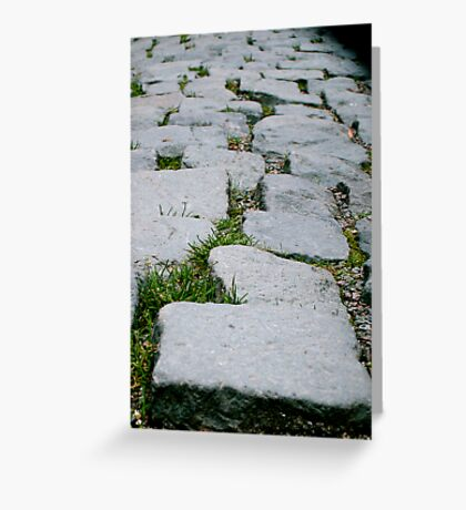 cobbled Greeting Card