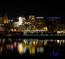 Cincinnati Skyline by Caleb Hughes