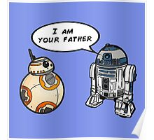 R2D2 and BB-8 Poster